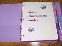 TONS of home organization printables here to include in an organizational binder.  Like:  Calendars, To do lists, Chore Charts, Menu Plan Charts, etc.