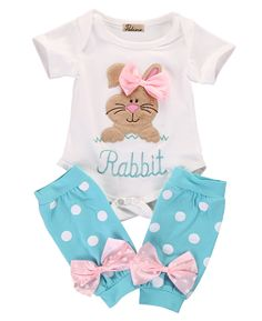 newborn baby girl clothes set Kids Baby Girl Romper+Leg Warmer Stocking Clothes Outfit Set - Kid Shop Global - Kids & Baby Shop Online - baby & kids clothing, toys for baby & kid Baby Outfits, Kids Outfits, Baby Girl Romper, Baby Girl Newborn, Leg Warmers Outfit, Easter Outfit For Girls, Baby Shop Online, Girls Rompers, Cute Baby Clothes