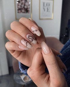 Over 120 best designs for coffin and gel nails for summer 2019 25 ~ telor .- Over 120 best designs for coffin and gel nails for summer 2019 25 ~ telor … Fire Nails, Instagram Nails, Dream Nails, Cute Acrylic Nails, Acrylic Art, Glitter Nails, Elegant Nails, Nagel Gel, Acrylic Nail Designs