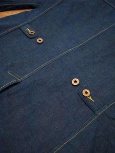 Denim Tailored Jacket. Detail