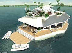 Isla Flotante de Lujo (2)