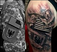 tattered Army tattoo - Google Search
