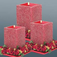 What are Homemade Crafts to Sell? Unique Candle Holders, Unique Candles, Red Candles, Floating Candles, Pillar Candles, Candels, Candle Pics, Candle Picture, Candle Art