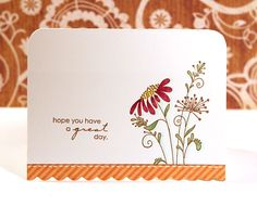 This is a pretty card I'd like to try and make. 070811-ff by starofmay, via Flickr