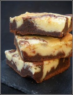 Brownie marbré cheese-cake