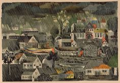 Heinz Kiessling's illustrations for Malbuchgeschichten by Ilse Firbas (Germany, 1949) Riot in Coloring Book no.9 - 50 Watts