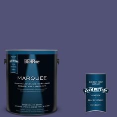 BEHR MARQUEE 1-gal. #630D-7 Deep Orchid