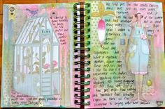 Art journal @Jane Dean