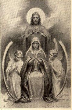 Crowning of Blessed Mother ~Queen of Heaven & Earth by God
