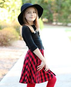 Free girls skater skirt pattern from Love Notions! Join the Love Notions Support group on Facebook for details!