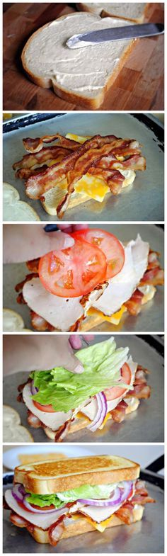 BLT Club Sandwich....oh my god.