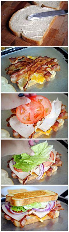 BLT Club Sandwich....oh my god.
