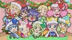 Kusukusu, Iru, Yoru, Eru, Ran, Miki Pepe, Su, Kiseki and Daichi - Xmas
