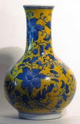 Vase «Blaue Blume»des 19.