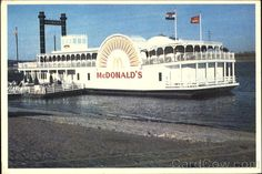 Riverboat McDonalds St. Louis Missouri This was such a neat McDonald's to go to.