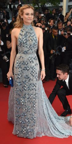 The Best of the 2015 Cannes Film Festival Red Carpet - Diane Kruger  - from InStyle.com