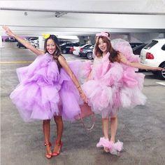 Diy loofah costume loofah costume bubble baths and mardi gras 31 insanely ingenious diy costumes for bffs solutioingenieria Gallery