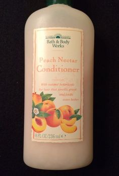 Bath & Body Works Peach Nectar Hair Conditioner, 1995/1996