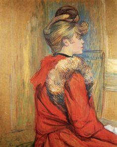 Girl from Moulin by Henri de Toulouse-Lautrec