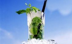 Clear beautiful Sky + Mojito