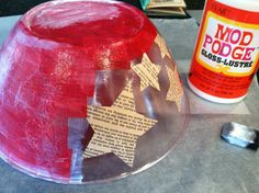 Dollar Store Makeover: Chip Bowl for the 4th of July!