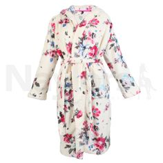 Joules+Ladies+Rita+Dressing+Gown+Porcelain+Floral+-+Joules+Ladies+Rita+Dressing+Gown+in+Porcelain+Floral+.+The+Joules+Ladies+Rita+Dressing+Gown+is+perfect+for+those+lazy+mornings+or+chilled+out+evenings.+The+Rita+Dressing+Gown+is+made+with+soft+fleece+and+features+front+patch+pockets+and+a+detachable+tie+belt. Machine+washable. 100%+polyester.