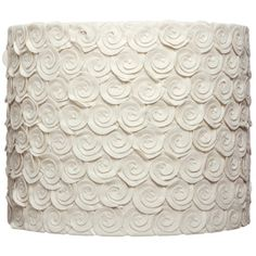 Snail Ecru Lamp Shade (India) | Overstock™ Shopping - Great Deals on Floor Lamps