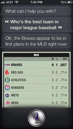 Siri knows.