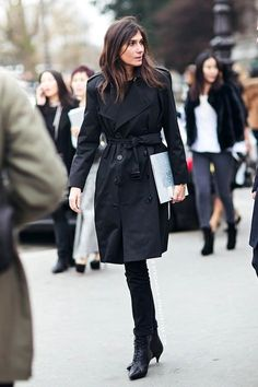 How To Wear The All Black Look Like A Fashion Editor