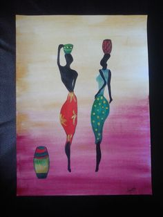African styled painting