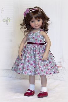 """13"""" Little Darling Effner, Madame Alexander Rosy Delight 3-Piece Outfit #Unbranded"""