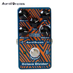 2017 New Effect Pedal! Aural Dream Octave Divider Effects Pedal for Guitar accessories NEW Arrivals PROMOTION #Affiliate