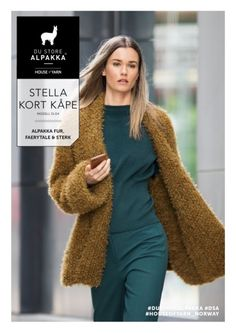 DSA51 04 Stella kort kåpe   Du Store Alpakka