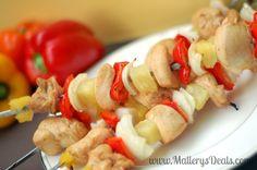 Sweet Chicken Skewers #grillingishappiness #sofabu