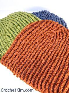 Mens Crochet Beanie