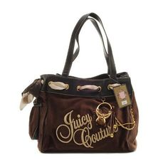 a7afa69ed9 Juicy Couture Daydreamer Ring Bling Brown Black Handbag  juicy Designer  Inspired Handbags