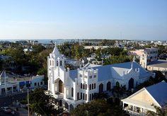Key West, St. Paul's, Duval Street