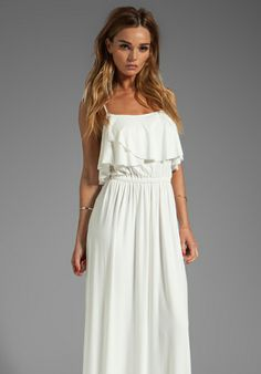 RACHEL PALLY Cloris Maxi Dress in White - Dresses