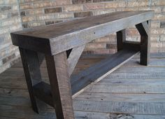 Bench / Farmhouse Bench / Benches / Entryway by FurnitureFarm