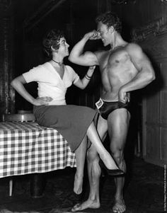 evolution du bodybuilding avant maintenant 1956   évolution du bodybuilding avant maintenant   photo image evolution bodybuilding bodybuilder avant après