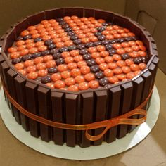 Kit Kat Basketball cake