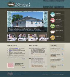 Non-profit SEO Website Design at http://www.LorrainesSoupKitchen.com