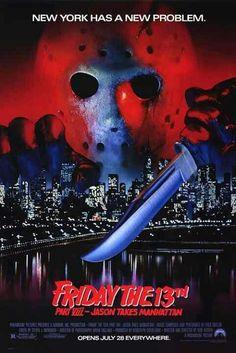 #Fridaythe13th Part 8 - Jason Takes Manhattan (1989)