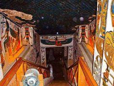 Tomb of Queen Nefertari.