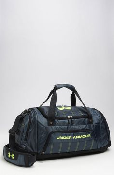 Locker Bag | Under Armour Locker Duffel Bag in Gray for Men (wire grey) - Lyst