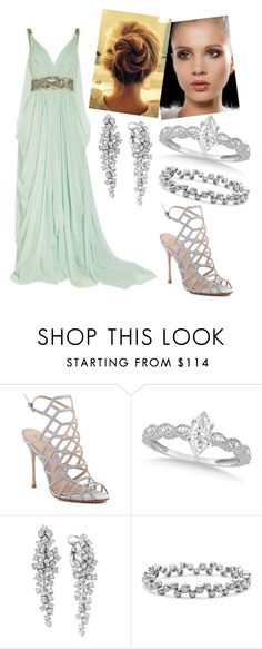 """Live"" by renata-patricia-carvalho ❤ liked on Polyvore featuring Schutz, Allurez, Effy Jewelry and Tiffany & Co."