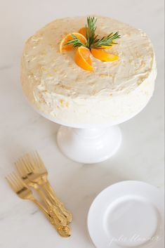 This beautiful made-from-scratch Mandarin Orange Cake is easy to make, especially with the help of little hands. It's a fresh twist on an old classic – Mandarin Orange Cake made without Cool Whip or cake mix. Just fresh, flavorful, beautiful cake. Strawberry Cream Cakes, Chocolate Strawberry Cake, Strawberry Cake Recipes, Mini Desserts, Delicious Desserts, Dessert Recipes, Mandarin Cake, Holiday Cakes, Holiday Desserts