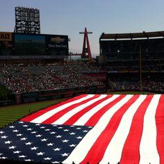 God bless America an the Anaheim angels