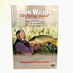 John Wilson Go Fishing Special DVD Centre Pin Fishing in Southern Chalkstreams Dvds For Sale, Centre, Fishing, Southern, Peaches, Pisces, Gone Fishing