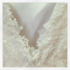 #wedding #dress #etiennejeanson #couture #paris #france #luxe #fashion #bridal #mariage #white #lace